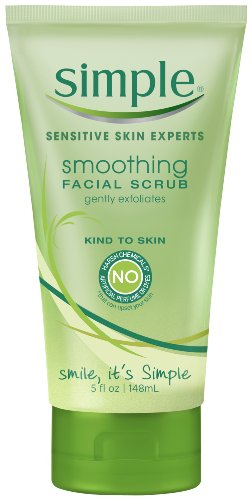 Simple Kind to Skin Facial Scrub, Smoothing 5 oz