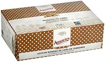 Azúcar moreno de caña integral en terrones caja 1 kg: Amazon.es: Alimentación y bebidas