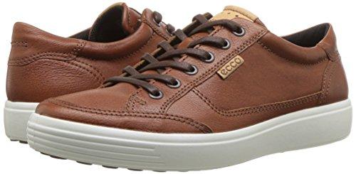 ECCO Men's Soft 7 Sneaker, Cognac, 45 M EU (11-11.5 US)