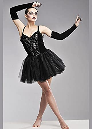 Damas Cisne Negro gótico del traje de la bailarina L (12-14 Reino ...