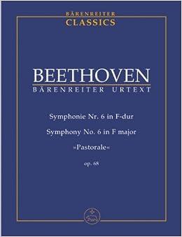 ベートーヴェン: 交響曲 第6番 ヘ長調 Op.68 「田園」/ベーレンライター社/デル・マール編/中型スコア