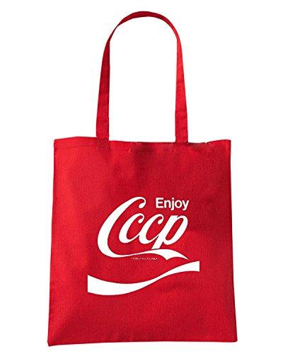 T-Shirtshock - Bolsa para la compra TCO0004 9e14c5fc21 3118990 lrg Rojo