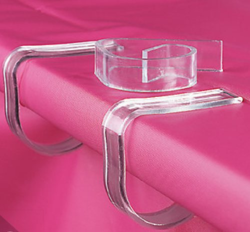 Plastic Tablecloth Tablecover Picnic Clamps