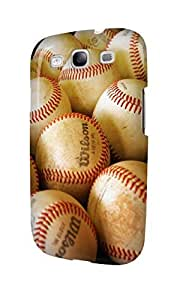 S30524 Baseballs Glossy Case Cover For Galaxy S3 by runtopwell