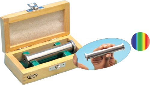 Eisco Labs Advanced Direct Vision Spectroscope in Wood Case