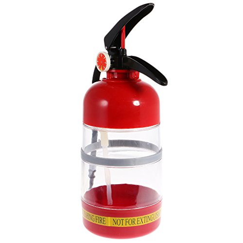 MagiDeal Fire Extinguisher Cocktail Shaker Beer Dispenser Machine Bar Tool for Home Party Tool Red