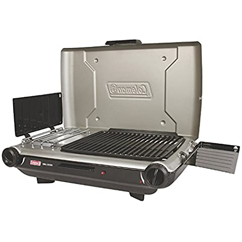 Coleman PerfectFlow8482; Portable Camp Propane Grill/Stove+ - Ignition Stove