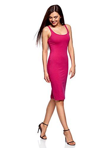 Donna Canotta Maglia oodji Abito 4700n in Ultra Rosa fq6n5