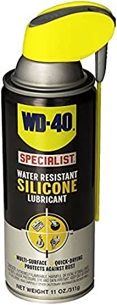 WD-40 300014 Specialist Water Resistant Silicone Lubricant Spray 11 OZ (Pack of 1)