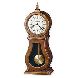 Arendal Cherry Finish Quartz Mantel Clock