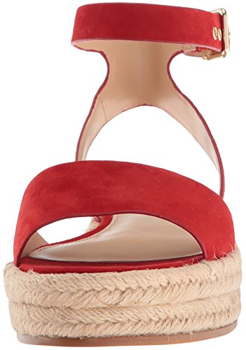 Rio Sandal Espadrille Wedge Camuto Women's Vince Red Kathalia Hot pqwB77Pf