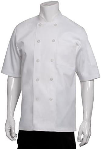 Chef Works Men's Volnay Chef Coat