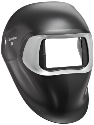 The Speedglas 100 Black welding helmet without headband and