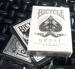 THREE CUSTOM DECK [RARE] SAMPLE PACK of Bicycle Playing Cards ON SALE by Ellusionist.com.... Ghost : Viper : Tiger