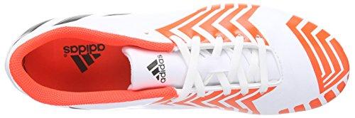 adidas Predito Instinct FG - Zapatillas de fútbol Hombre Ftwr White/Core Black/Solar Red