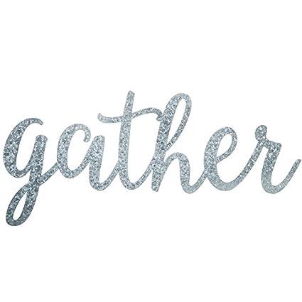 Gather Metal Sign