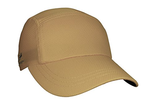 Headsweats Performance Race/Running/Outdoor Sports Hat, One Size, Gold (Buckle Terry)