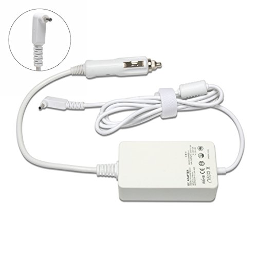 DC Car Charger 19V 3.42A Power Adapter for Acer ChromeBook 11 CB3-111-C670 C720 C720P CB3-111-C4HT CB5-311 with extra 3.0 USB (3.42a Car)