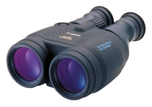Canon 15 X 50 Image Stabilising All Weather Binoculars with Neck Strap & Case