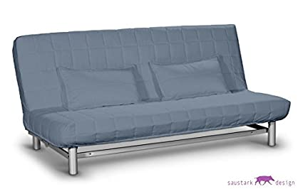 Saustark design rom blu fodera per divano letto ikea beddinge