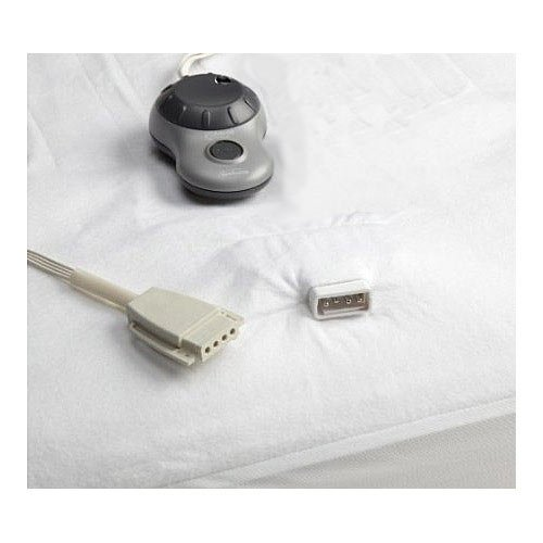 Sunbeam Non-Woven Thermofine Heated Electric Mattress Pad Full Size