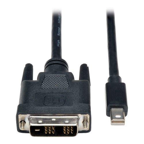 Tripp Lite Mini DisplayPort to DVI Cable Adapter, MDP to DVI (M/M), MDP2DVI, 1080p, 6 ft. (P586-006-DVI)