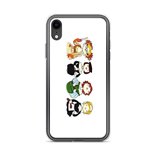 iPhone XR Case Clear Anti-Scratch Ladies of Clue, clue Cover Phone Cases for iPhone XR, Crystal Clear]()