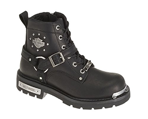 Harley-Davidson Women's Becky Motorcycle Boot, Black, 8.5 Medium US