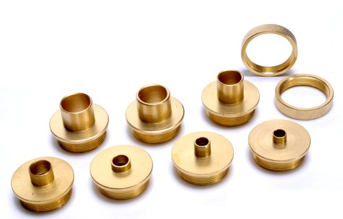 MLCS 9674 Brass Template Guide (Template Guide Kit)