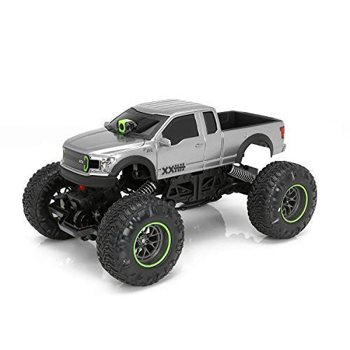 ittin Jr. Ford F-150 RTR RC Truck with Camera | 1:12 Scale, VR Headset, FPV, WiFi, 80 Foot Range, Off-Road Capable | 9.6v Battery and Charger Included ()