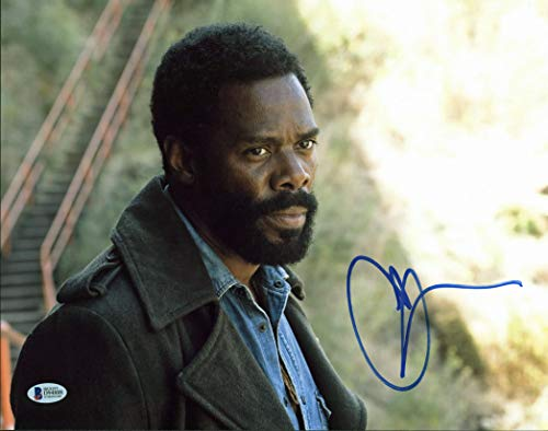 Chad Coleman The Walking Dead Authentic Signed 11x14 Photo BAS #D94888