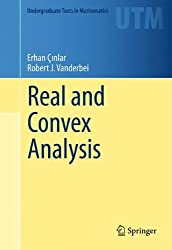 Real and Convex Analysis (Undergraduate Texts in Mathematics)