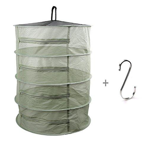Hanging Dry net jetfree Collapsible Mesh Hanging Herb Drying