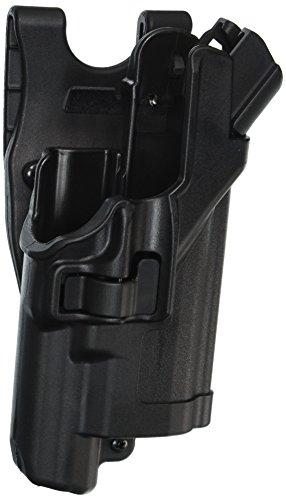 BLACKHAWK! Level 3 SERPA Light Bearing Auto Lock Duty Matte Finish Holster, Size 16, Right Hand, (H&K P2000 ()
