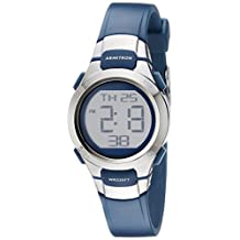 Armitron Sport Women's 45/7012NVSV Digital Watch with Matte Navy Strap