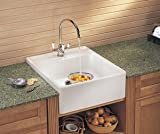 Franke : MHK71024GB 24 Single Bowl Fireclay Sink