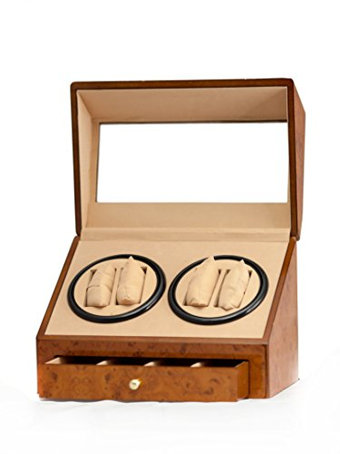brand-new-walnut-4-4-automatic-rotation-quad-watch-winder-4-display-storage-box-case-with-drawer