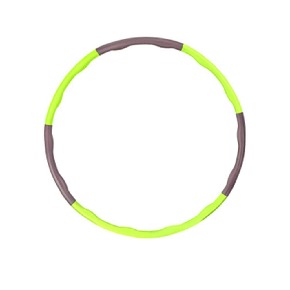Hula Hoops Fitness Exercise Workout Green Lose Weight Professional Fitness HUYP (Size : 88cm)