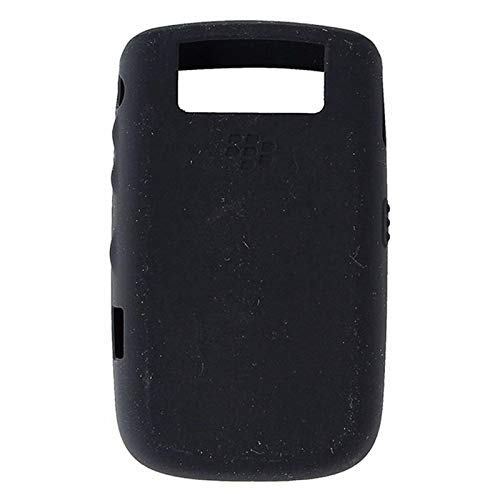 (OEM BLACK Blackberry Silicone Rubber Gel Skin Case Cover for Tour 9630 and Bold 9650)