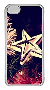 LJF phone case iphone 5/5s Case, Personalized Custom Star 3 for iphone 5/5s PC Clear Case