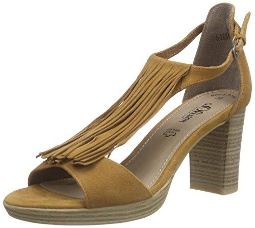 Sandals 28340 Braun Bar s 310 Camel T Women's Brown Oliver qwC76