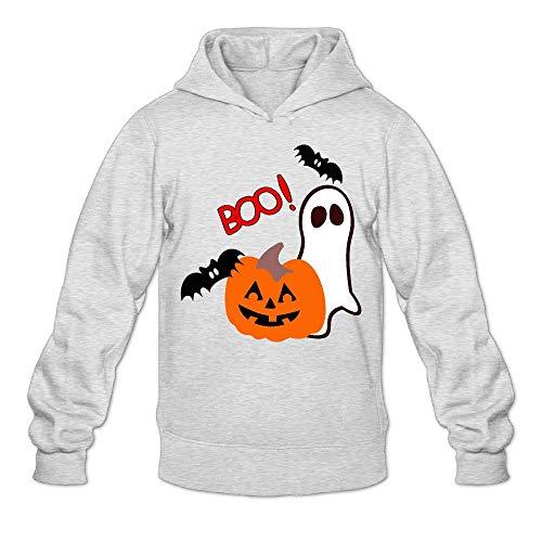 JIW9W67 Halloween Clipart Men's Hoodie Long Sleeve Outerwear Cotton Sweatshirt