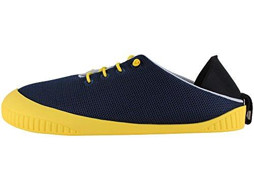 Breezy Summer Fit yellow Shoe Slipper Removable Navy Dualyz With Sole qHBEx5qzw