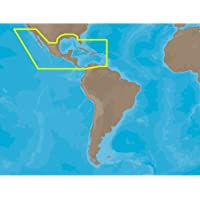 C-MAP CMAP-NA-M027-SD / MAX Wide NA-N027 Central America SD