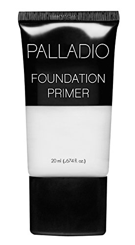 Palladio Foundation Primer, 0.674 oz,, Lightweight and Velvety Primer with Aloe Vera and Chamomile, Wear Alone or As Foundation Base, Minimizes Fine Lines and Pores, Helps Makeup Last Longer ()