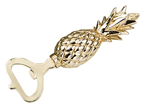 Fashioncraft Gold Pineapple Themed Bottle Opener