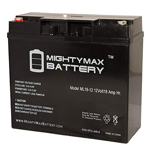 Mighty Max Battery 12V 18AH SLA Replacement Battery for Troy-Bilt generators 193463GS Brand Product