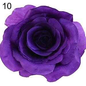 YHCWJZP 20Pcs Artificial Rose Flower Head Fake Blossom Home Wedding Party Garden Decor - 10 5
