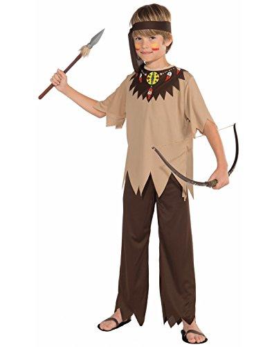 Native American Brave Costume, Child Medium