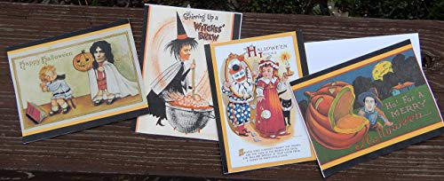 Vintage Halloween Serial Killer Post Cards. Set of